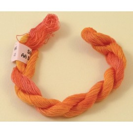 Superfine silk light orange color-changing n°13