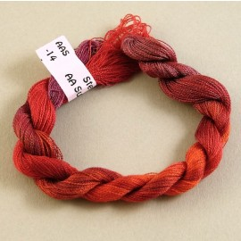 Superfine silk pinky red color-changing n°14