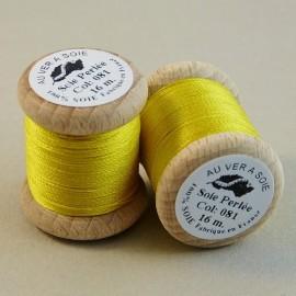 Perlé silk yellow Au ver à Soie n° 081