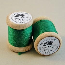 Perlé silk meadow green Au ver à Soie n° 271