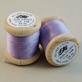 Perlé silk parma Au ver à Soie n° 348