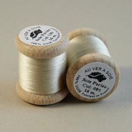 Perlé silk ivory Au ver à Soie n° 080