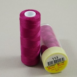Cotton thread dark fuchsia Dare Dare n°113