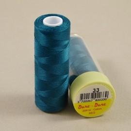Cotton thread peacock blue Dare Dare n°33