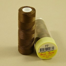 Cotton thread brown Dare Dare n°77