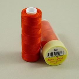 Cotton thread vermillon red Dare Dare n°90