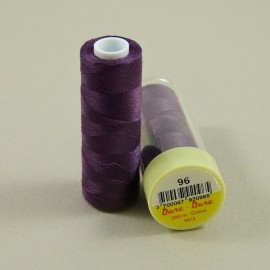 Cotton thread dark purple Dare Dare n°96