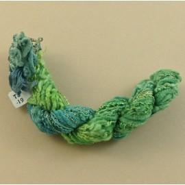 Assortiment changeant du vert tendre au bleu
