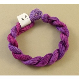 6 strands cotton color-changing purple n°37