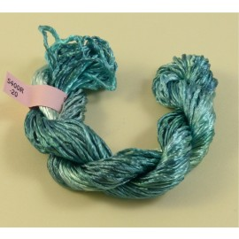 Heavy rayon aquamarine color-changing