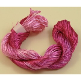 Heavy rayon fuchsia color-changing