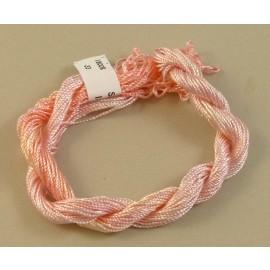 Medium perlé rayon light pink color-changing