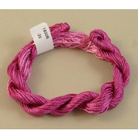 Medium perlé rayon fuchsia color-changing