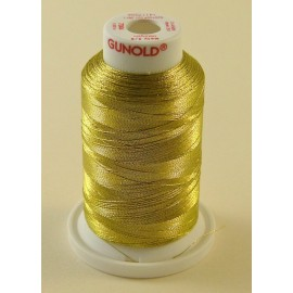 Metallic thread gold/silver « Gunold » n°74