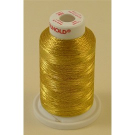 Metallic thread warm gold « Gunold » n°78