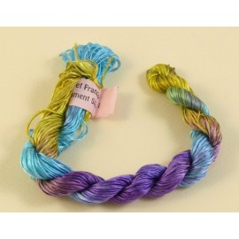 Filament silk blue, green and purple color changing n°31
