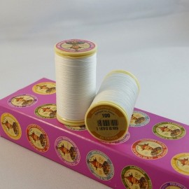 Waxed thread white « Au chinois »