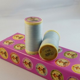 Waxed thread light grey « Au chinois » n° 786