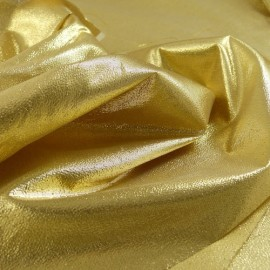 Paper lame fabric gold