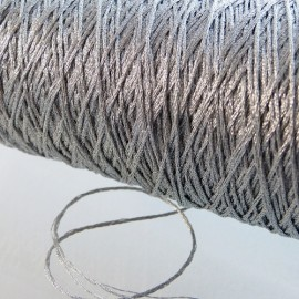 12 strands metallized thread silver