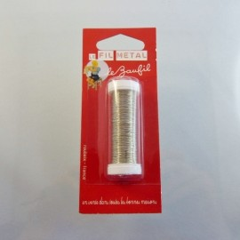 Thin wire silver 0,2 mm «Le Beaufil»