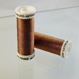 Metallic thread copper « Au Sextant » n°223