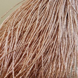 bright chek purl 1,1 mm pinky gold