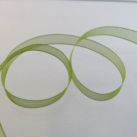 Organza olive 10 mm