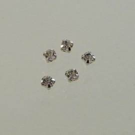Sew on rhinestone 3 mm cristal
