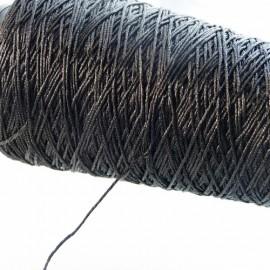 5 strands metallized thread black