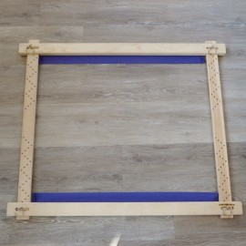 Luneville embroidery frame with mortise 0,90 x 0,75 m