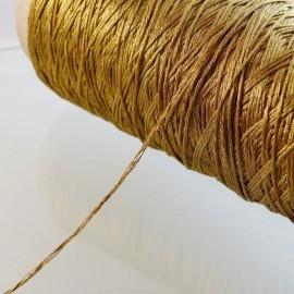 18 strands metallized thread dark gold