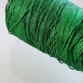 12 strands metallized thread meadow green