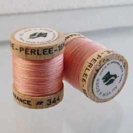 Perlé silk powder pink Au ver à Soie n° 344