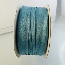 Silk ribbon 4 mm china blue
