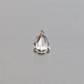 Sew on pear Swarovski crystal 10 x 6 mm