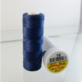 Cotton thread navy blue Dare Dare n°16