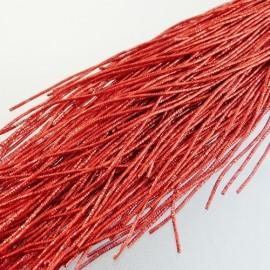 bright check purl 1,1 mm red