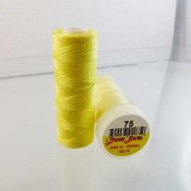 Cotton thread light yellow Dare Dare n°75