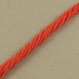 Strung Charlotte 13/0 opaque orange