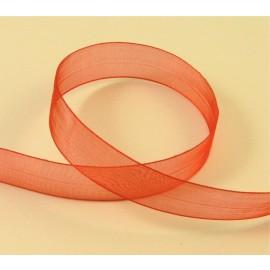 Organza rouge 15 mm