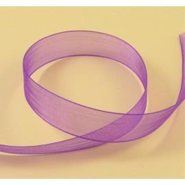 Organza violet 15 mm