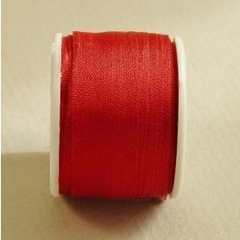 Silk ribbon 13 mm red