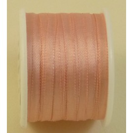 Silk ribbon 2 mm salmon