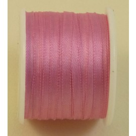 Silk ribbon 2 mm candy-pink
