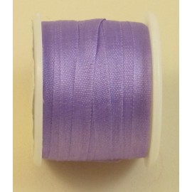 Silk ribbon 4 mm lilac