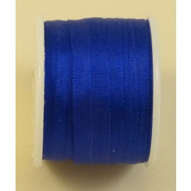 Silk ribbon 4 mm royal blue