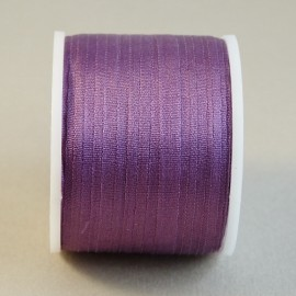 Silk ribbon 4 mm light purple