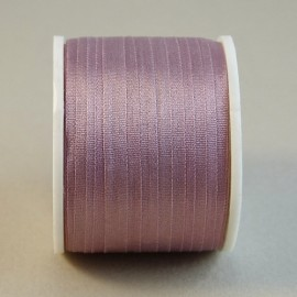 Silk ribbon 4 mm dusty pink