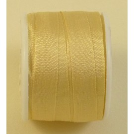 Silk ribbon 7 mm vanilla